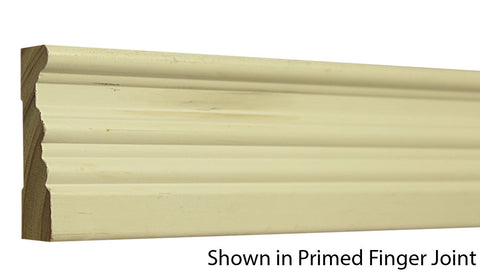 "Profile View of Casing Molding, product number CA-224-022-1-PF - 11/16"" x 2-3/4"" Primed Finger Joint Casing - $0.94/ft sold by American Wood Moldings"