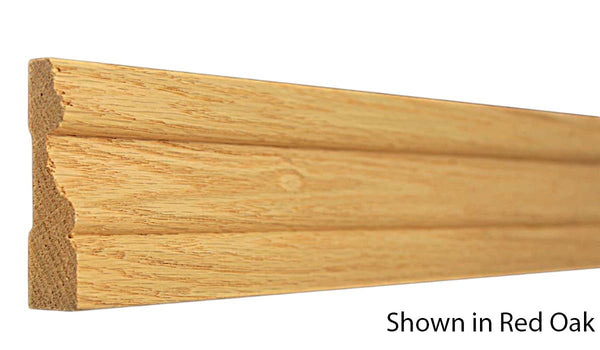 "Profile View of Casing Molding, product number CA-224-024-1-AS - 3/4"" x 2-3/4"" Ash Casing - $1.80/ft sold by American Wood Moldings"