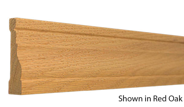 "Profile View of Casing Molding, product number CA-300-024-6-RO - 3/4"" x 3"" Red Oak Casing - $2.32/ft sold by American Wood Moldings"