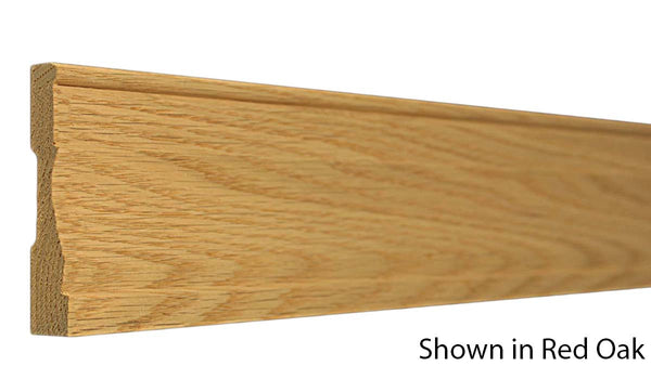 "Profile View of Casing Molding, product number CA-308-018-1-RO - 9/16"" x 3-1/4"" Red Oak Casing - $2.56/ft sold by American Wood Moldings"