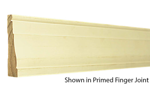 "Profile View of Casing Molding, product number CA-308-022-1-PF - 11/16"" x 3-1/4"" Primed Finger Joint Casing - $0.90/ft sold by American Wood Moldings"