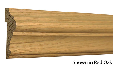"Profile View of Chair Rail Molding, product number CH-310-104-1-PO - 1-1/8"" x 3-5/16"" Poplar Chair Rail - $2.80/ft sold by American Wood Moldings"