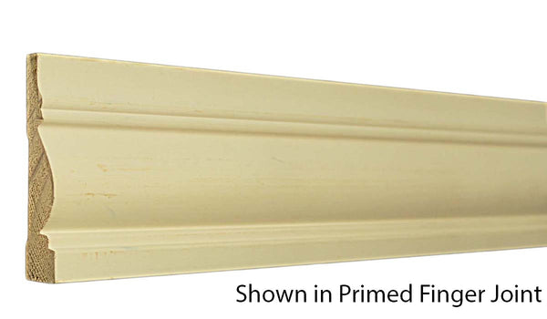 "Profile View of Casing Molding, product number CA-316-022-4-PF - 11/16"" x 3-1/2"" Primed Finger Joint Casing - $1.25/ft sold by American Wood Moldings"
