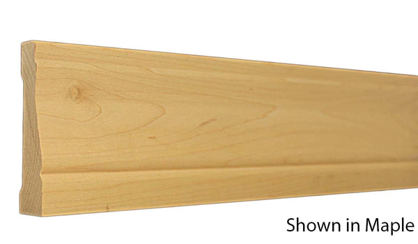 "Profile View of Casing Molding, product number CA-316-024-2-MA - 3/4"" x 3-1/2"" Maple Casing - $3.32/ft sold by American Wood Moldings"