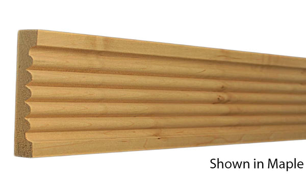 "Profile View of Casing Molding, product number CA-400-024-3-MA - 3/4"" x 4"" Maple Casing - $3.96/ft sold by American Wood Moldings"