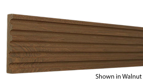 "Profile View of Casing Molding, product number CA-406-018-1-WA - 9/16"" x 4-3/16"" Walnut Casing - $12.28/ft sold by American Wood Moldings"
