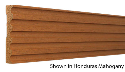 "Profile View of Casing Molding, product number CA-500-024-2-CH - 3/4"" x 5"" Cherry Casing - $5.76/ft sold by American Wood Moldings"