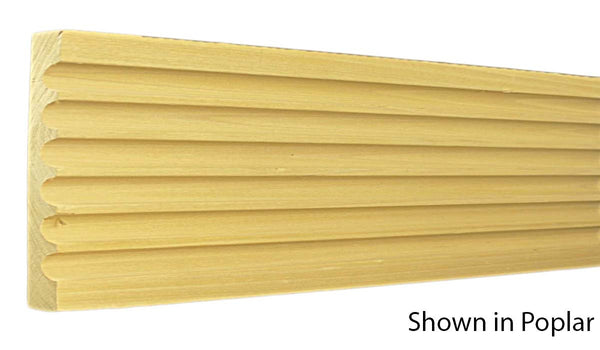 "Profile View of Casing Molding, product number CA-716-024-1-MA - 3/4"" x 7-1/2"" Maple Casing - $8.92/ft sold by American Wood Moldings"
