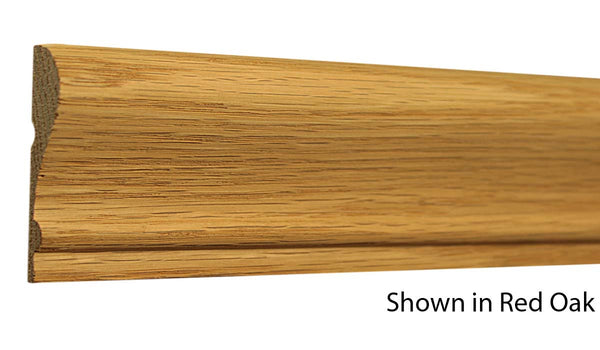 "Profile View of Chair Rail Molding, product number CH-210-016-1-PO - 1/2"" x 2-5/16"" Poplar Chair Rail - $1.36/ft sold by American Wood Moldings"