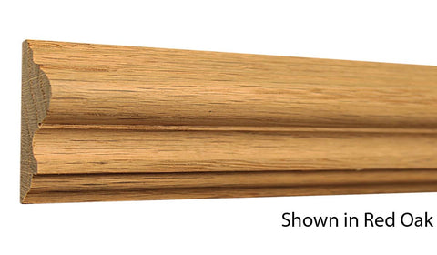 "CH225 13/16""x2-5/16"" Red Oak $2.12/ft."
