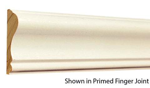 "Profile View of Chair Rail Molding, product number CH-220-022-1-PF - 11/16"" x 2-5/8"" Primed Finger Joint Chair Rail - $0.76/ft sold by American Wood Moldings"