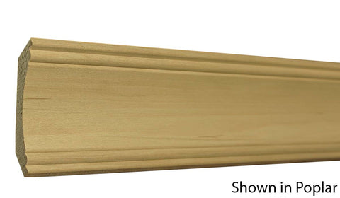 "Profile View of Crown Molding, product number CR-308-020-1-PO - 5/8"" x 3-1/4"" Poplar Crown - $1.48/ft sold by American Wood Moldings"