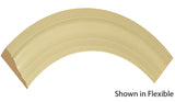 "Profile view of a flexible MDF Casing molding, product number FRCA218 11/16"" x 2-1/2"" - $7.37/ft. sold by American Wood Moldings"