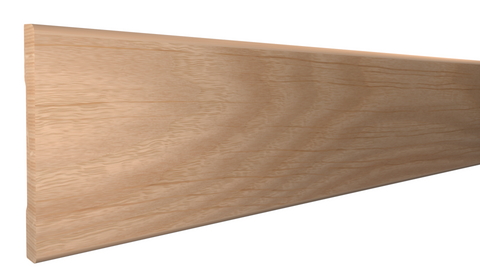 "BA-308-012-2-RO -  3/8"" x 3-1/4""  Red Oak Base - $1.92/ft"