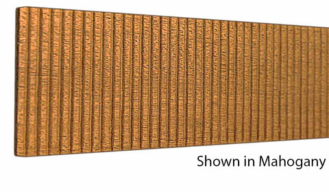 "Profile View of Decorative Embossed Molding, product number DE-300-006-1-HMH - 3/16"" x 3"" Honduras Mahogany Decorative Embossed Molding - $8.68/ft sold by American Wood Moldings"