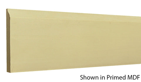 "Profile view of a MDF Base molding, product number PMBA405 1/2"" x 4-1/4"" - $0.72/ft. sold by American Wood Moldings"