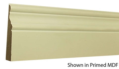 "Profile View of Base Molding, product number BA-408-020-1-PM - 5/8"" x 4-1/4"" Primed MDF Base - $0.96/ft sold by American Wood Moldings"
