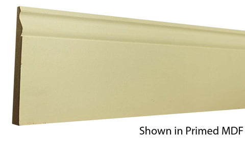 "Profile View of Base Molding, product number BA-508-020-2-PM - 5/8"" x 5-1/4"" Primed MDF Base - $0.92/ft sold by American Wood Moldings"