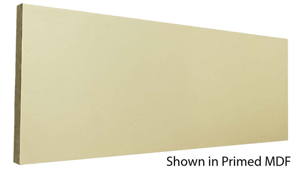 "Profile view of a MDF Base molding, product number PMBA540 1/2"" x 5-1/2"" - $0.84/ft. sold by American Wood Moldings"