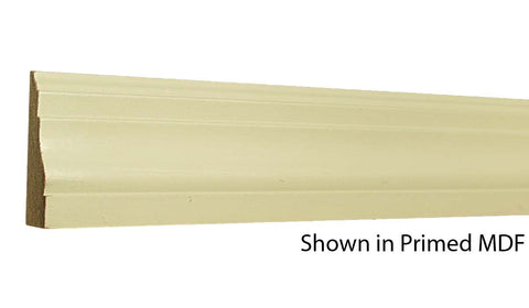"Profile View of Casing Molding, product number CA-216-022-1-PM - 11/16"" x 2-1/2"" Primed MDF Casing - $0.60/ft sold by American Wood Moldings"