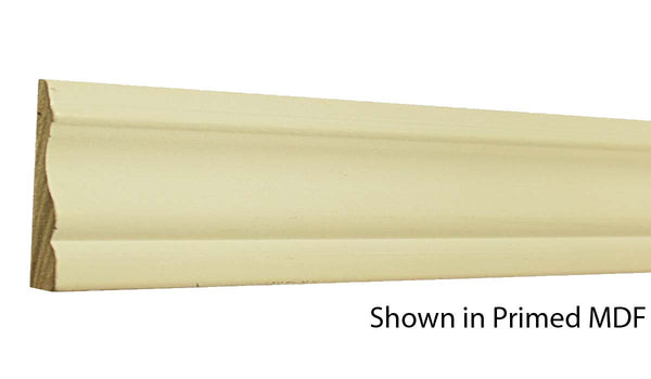 "Profile View of Casing Molding, product number CA-224-020-1-PM - 5/8"" x 2-3/4"" Primed MDF Casing - $0.67/ft sold by American Wood Moldings"