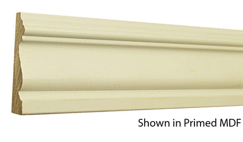 "Profile view of a MDF Casing molding, product number PMCA305 5/8""x3"" $0.64/ft. sold by American Wood Moldings"