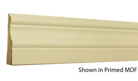 "Profile View of Casing Molding, product number CA-300-022-2-PM - 11/16"" x 3"" Primed MDF Casing - $0.79/ft sold by American Wood Moldings"