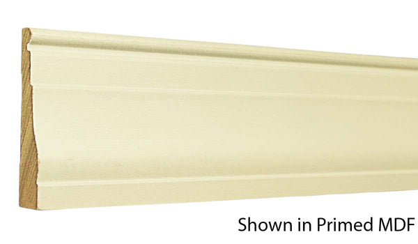 "Profile view of a MDF Casing molding, product number PMCA326 11/16""x3-1/4"" $0.88/ft. sold by American Wood Moldings"