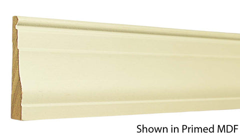 "Profile View of Casing Molding, product number CA-308-022-1-PM - 11/16"" x 3-1/4"" Primed MDF Casing - $0.92/ft sold by American Wood Moldings"
