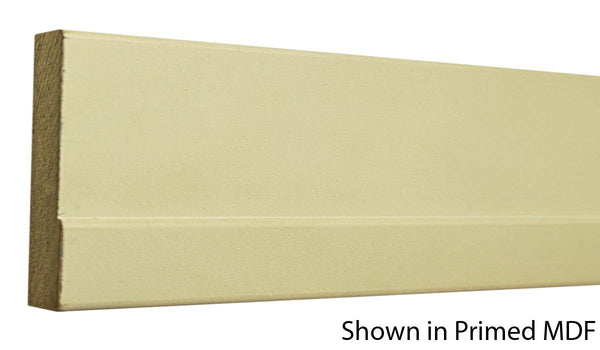 "Profile view of a MDF Casing molding, product number PMCA345 11/16"" x 3-1/4"" $0.80/ft. sold by American Wood Moldings"