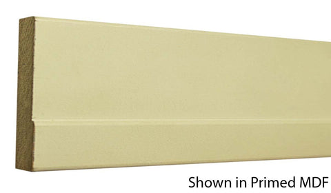 "Profile View of Casing Molding, product number CA-308-022-4-PM - 11/16"" x 3-1/4"" Primed MDF Casing - $0.83/ft sold by American Wood Moldings"