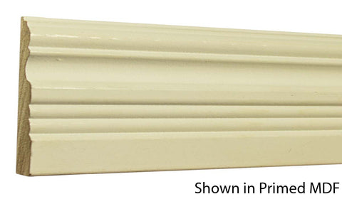 "Profile View of Casing Molding, product number CA-316-024-1-PM - 3/4"" x 3-1/2"" Primed MDF Casing - $1.96/ft sold by American Wood Moldings"