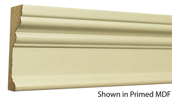 "Profile view of a MDF Casing molding, product number PMCA366 1""x3-1/2"" $1.20/ft. sold by American Wood Moldings"