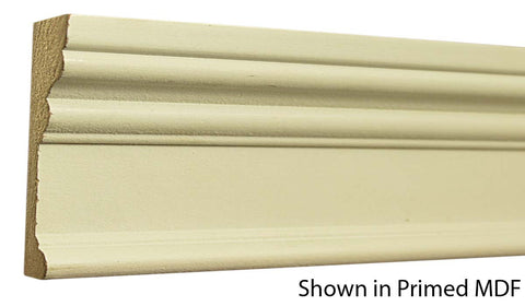 "Profile View of Casing Molding, product number CA-316-100-1-PM - 1"" x 3-1/2"" Primed MDF Casing - $1.25/ft sold by American Wood Moldings"