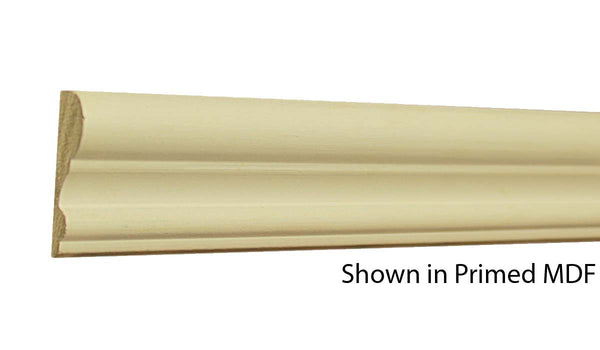 "Profile View of Panel Molding, product number PA-124-020-1-PM - 5/8"" x 1-3/4"" Primed MDF Panel Molding - $1.00/ft sold by American Wood Moldings"