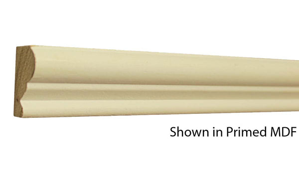 "Profile View of Panel Molding, product number PA-112-024-3-PM - 3/4"" x 1-3/8"" Primed MDF Panel Molding - $1.23/ft sold by American Wood Moldings"