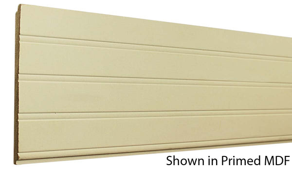 "Profile View of Wainscot Molding, product number WS-515-012-1-PM - 3/8"" x 5-15/32"" Primed MDF Wainscot - $1.10/ft sold by American Wood Moldings"