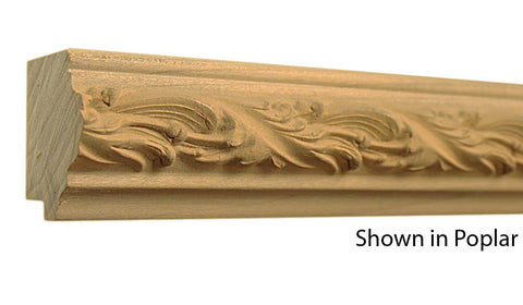 "Profile View of Decorative Carved Molding, product number DC-200-200-1-PO - 2"" x 2"" Poplar Decorative Carved Molding - $7.84/ft sold by American Wood Moldings"