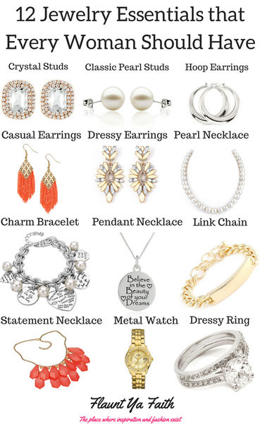 12 Jewelry Essentials for Women-jewelry essentials classic-jewelry guide