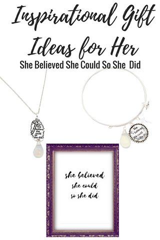Inspirational Gift Ideas for Women