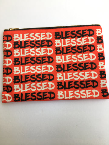 Blessed Clutch Bag-Christian Fashionista- Clutch Bag Quotes