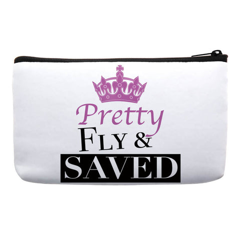 makeup bags with sayings -makeup bags with quotes-makeup bags with words -cosmetic bags with sayings