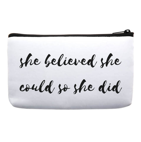 she believed she could so she did bag-gifts for bridesmaid-bridesmaid gift inspiration