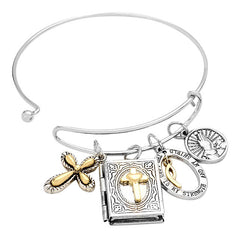 The Lord Is my Shield Bible Verse Bracelet