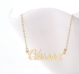 Gold Blessed necklace-Christian Gifts for Students, Christian Gifts for graduating seniors, Christian Gifts for grandma, christian minimalist mom, christian minimalist lifestyle, christian gifts for college students