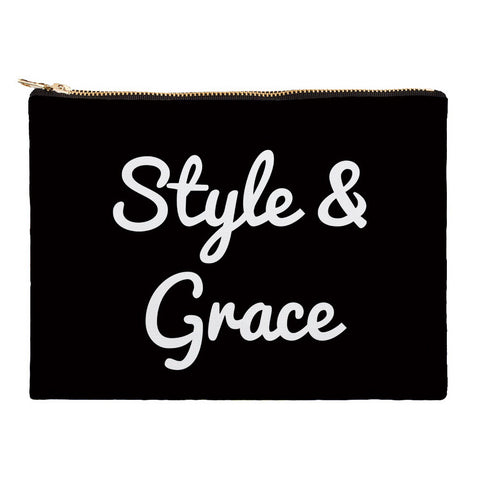Blessed Bag, Inspirational Accessories, Makeup Bag, Cosmetic Bag, Travel Bag with Words, Style and Grace