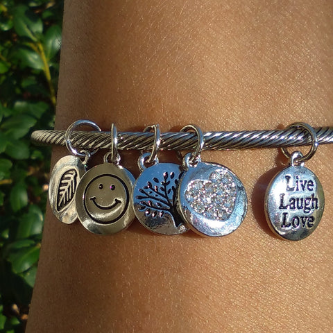 cuff bracelet with sayings, Live Laugh Love Bracelet- Inspirational Jewelry, Inspirational quotes on silver bracelets, quotes bracelets, Inspirational quotes bracelets, Inspirational Jewelry for Daughters, inspirational jewelry for friends, inspirational jewelry for cancer patients