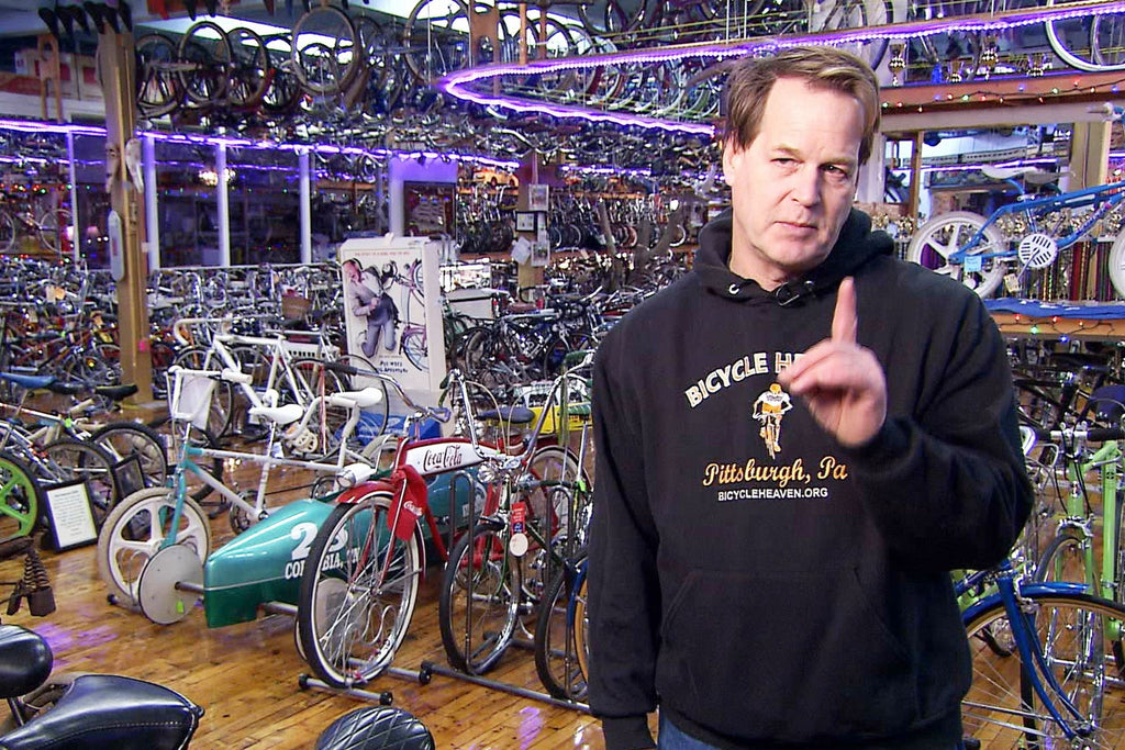 Bicycle Heaven featured in new television show 'That's a Lot'!