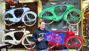 Craig Morrow, the owner of Bicycle Heaven.