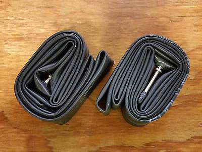 BICYCLE TIRE TUBES 48MM PRESTA VALVE 29 X 2.10 700 X 50-52 NEW PAIR PREMIUM